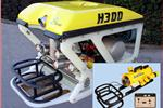 ECA Robotics ROV with JW Fishers RMD-1 remote metal detector on front