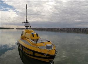 ASV BEN (Bathymetric Explorer and Navigator) is a custom prototype built by SV Global Unmanned
