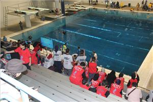 The 2018 MATE International ROV Competition was held at the King County Aquatic Center in in