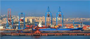 Visakhapatnam port is a second largest port by cargo handled in India.
