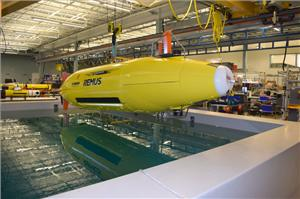 Hydroid's REMUS autonomous underwater vehicle (Photo: Hydroid)