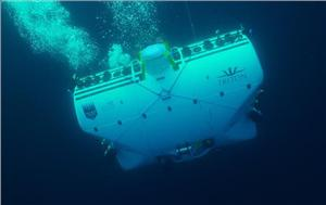 The ocean submersible DSV Limiting Factor recently dove to the Kebrit Deep and the Suakin Trough