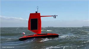 NOAA and Saildrone Inc. are piloting five specially designed saildrones in the Atlantic Ocean to