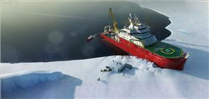 The RRS Sir David Attenborough, Britain's new polar research vessel: the naming ceremony for the