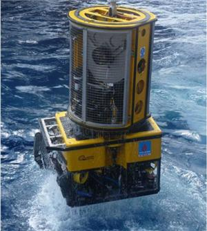 TMS attached to ROV