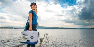 Christine Spiten - a passion for ocean #ACTION. Photo Courtesy