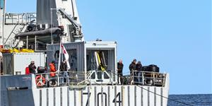 GeoSpectrum TRAPS onboard Canadian Navy's Kingston-class coastal defense vessel (Photo: Elbit