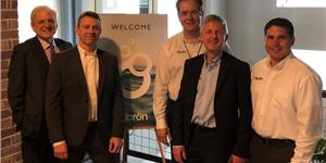 Fibron held a new branding launch event at the Karbach Brewery Houston during the week of OTC.