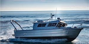 The 40' x 13' research vessel Nanuq recently entered service for the University of Alaska