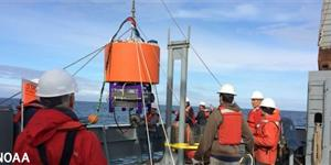 A joint deployment of an environmental sensor processor off the Washington coast by NOAA and the