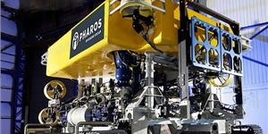 Pharos Offshore's latest addition to its rental fleet, the Q1000 high-powered jet-trenching ROV