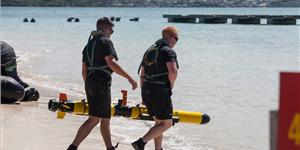Marines test the future of oceanic reconnaissance at Marine Corps Base Hawaii using an Iver